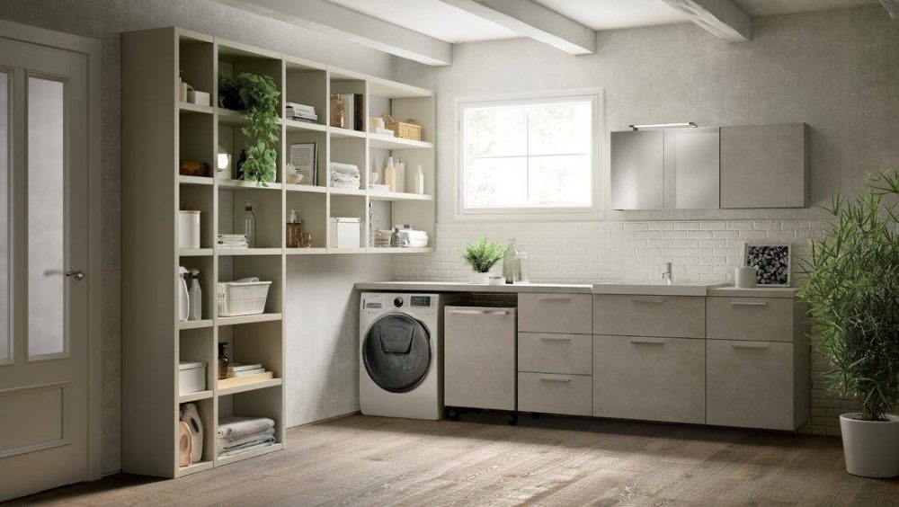 Bagno Con Zona Lavanderia : Laundry space il nuovo spazio lavanderia di scavolini maison design
